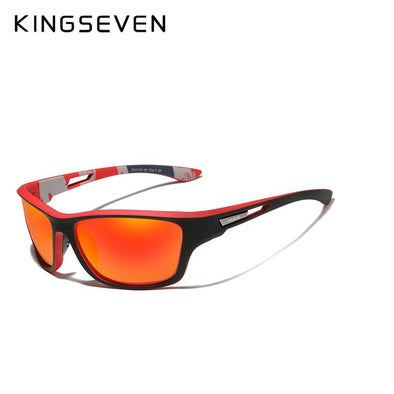 Polarized Sunglasses Driving Shades Outdoor Sports Red - fingla.com