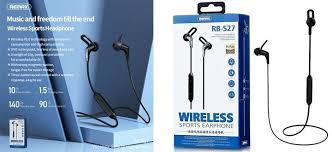 Remax RB-S27 Bluetooth Neckband Headphones