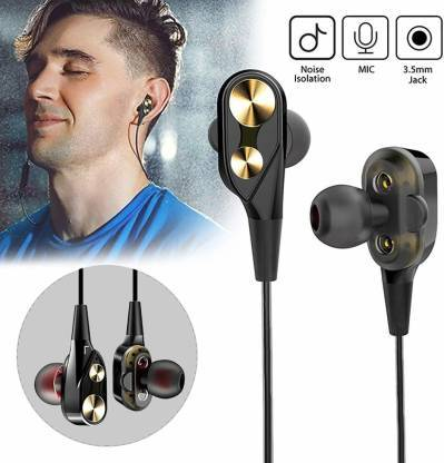 SGS 222 Bluetooth Sports Earphone With Mic Wireless Earbuds Earphone Stereo In-Ear Bluetooth Headset - fingla.com
