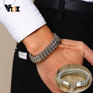 Vintage Double Curb Chain Bracelets - fingla.com