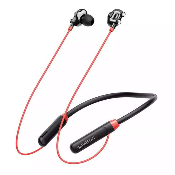 Wavefun Flex U Dual Dynamic Speaker Wireless Neckband - fingla.com