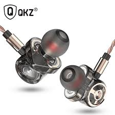 QKZ CK10 Heavy Bass HiFi Dynamic Subwoofer Earphone