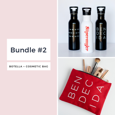BUNDLE 2 (Botella + Cartera multiuso)