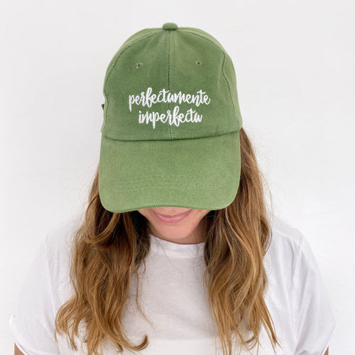 Gorra: Perfectamente Imperfecta Verde