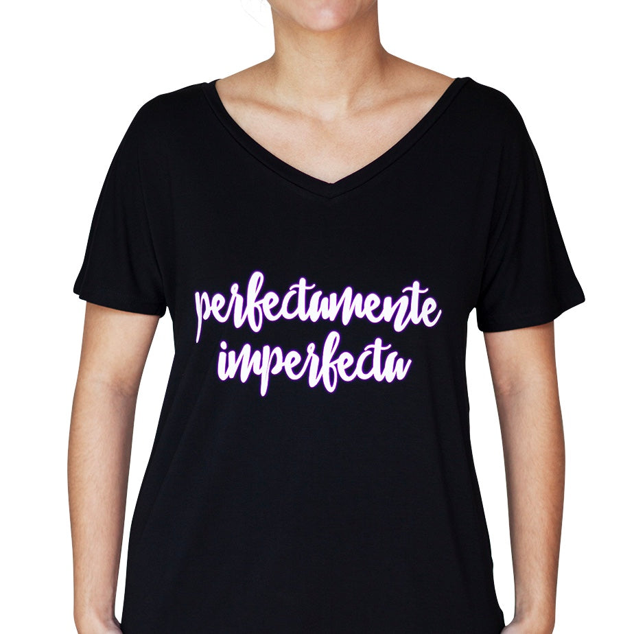 Camisa: Perfectamente Imperfecta Negra