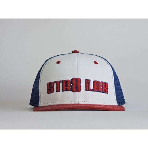 SL Signature Snapback Royal/White/Red