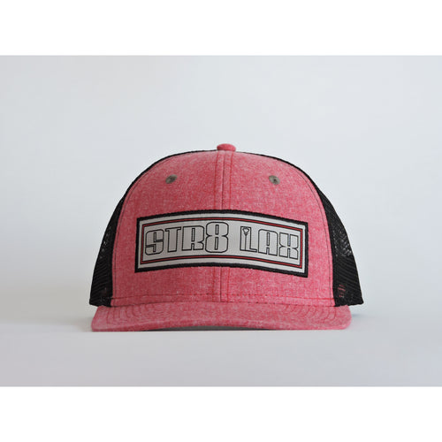 SL Banner Snapback BLACK/HEATHER RED/CHARCOAL
