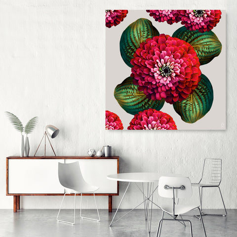 CHARMAINE FLOWER - Chili Pepper on White Sand Wall Art