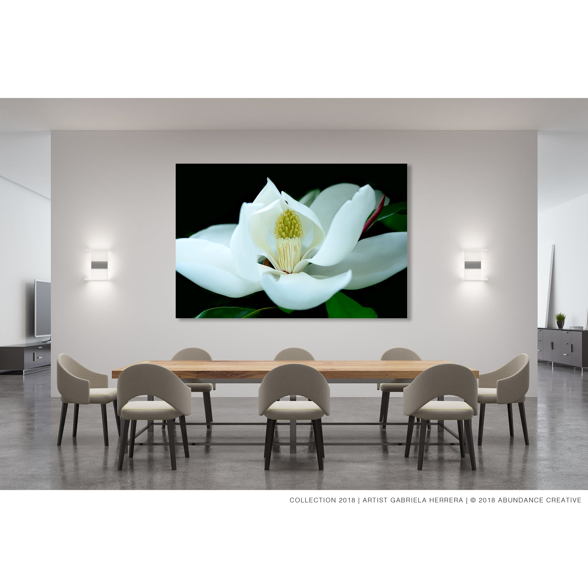 Timeless Evergreen Magnolia - Print on Hahnemuehle Fine Art Paper