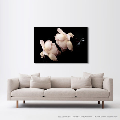 Chanel Rose Kiss - Wall Art Mounted Under Acrylic Glass