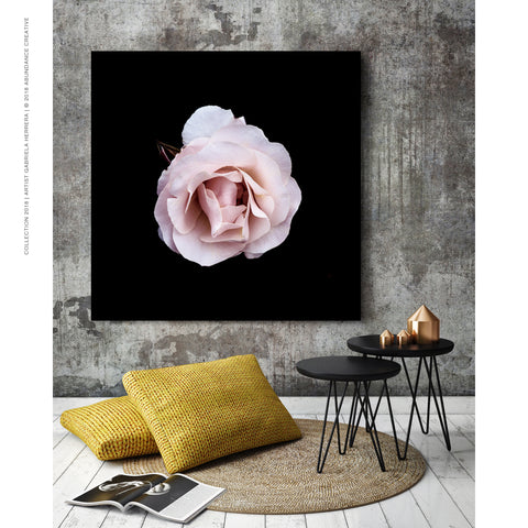 Chanel Rose Love - Wall Art Mounted Under Acrylic Glass