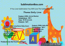 Starter Sublimation Subscription Box