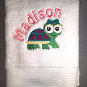 Embroidered Children's Towel - FigWear
