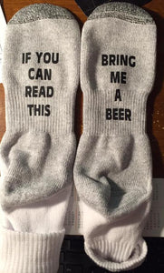 If You Can Read These... Socks