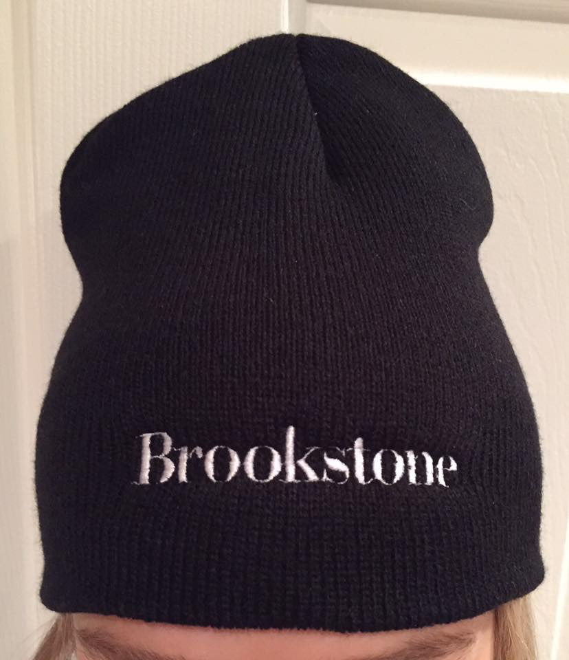 Custom Embroidered Beanie with Brookstone® Logo