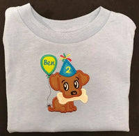 2nd Birthday Appliqué Tees - FigWear