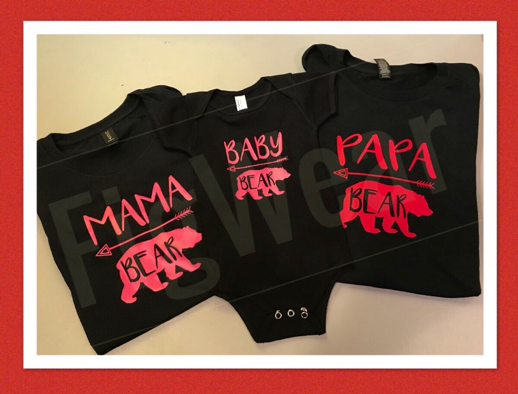 Bear Family Tees