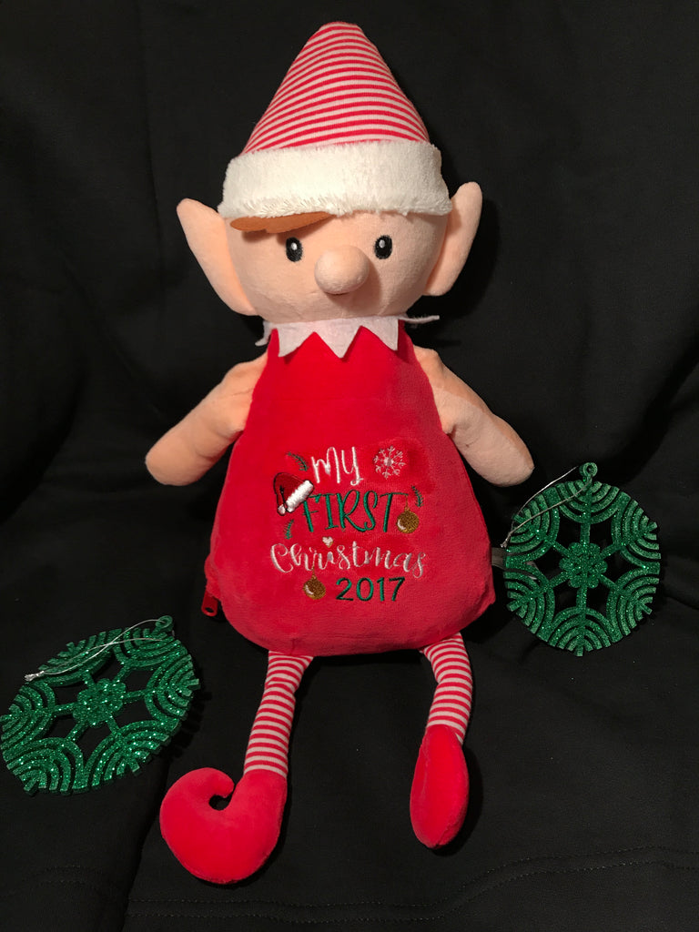 Tinsel Toes Personalized Elf
