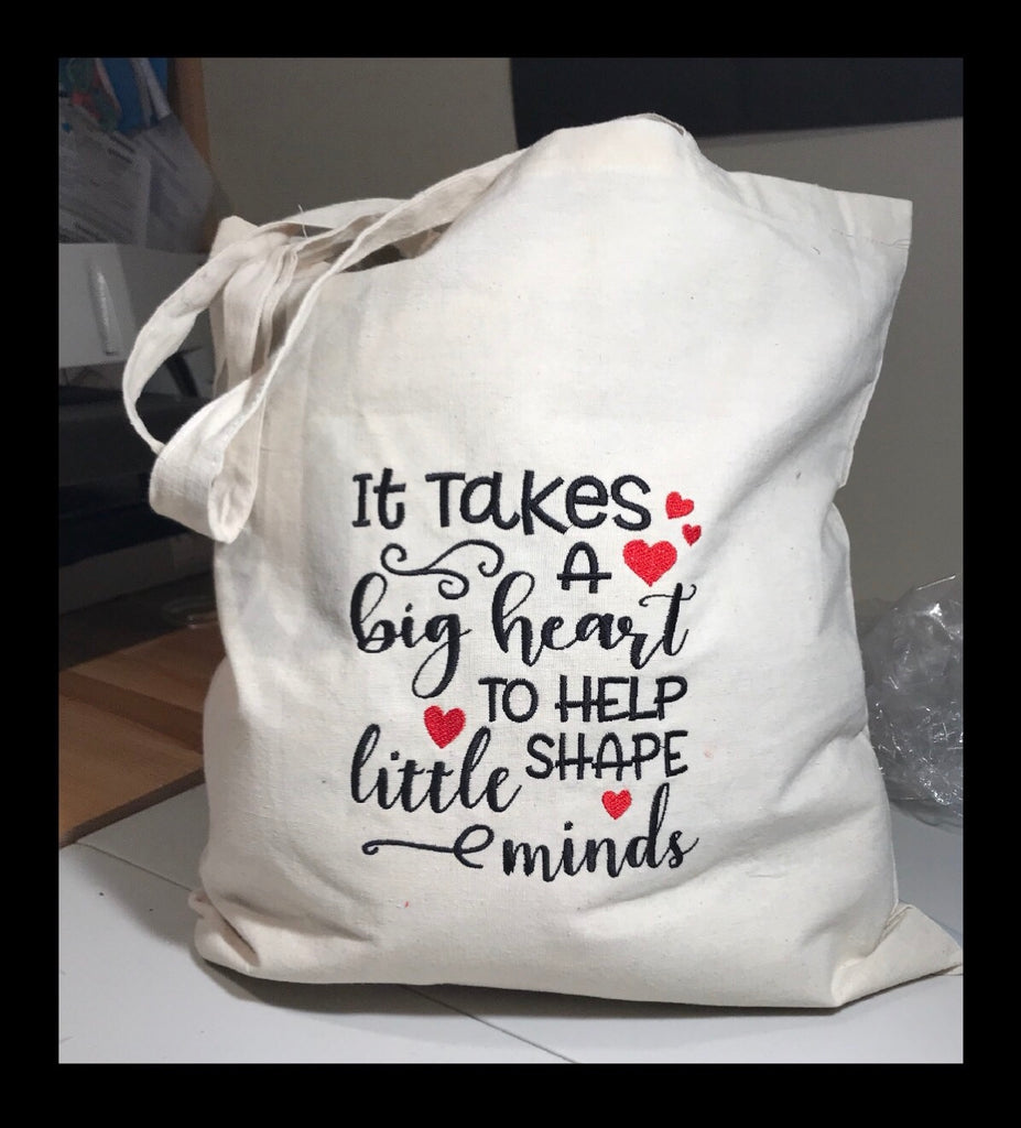 Shaping Minds Teacher Tote