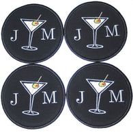 Custom Martini Coasters