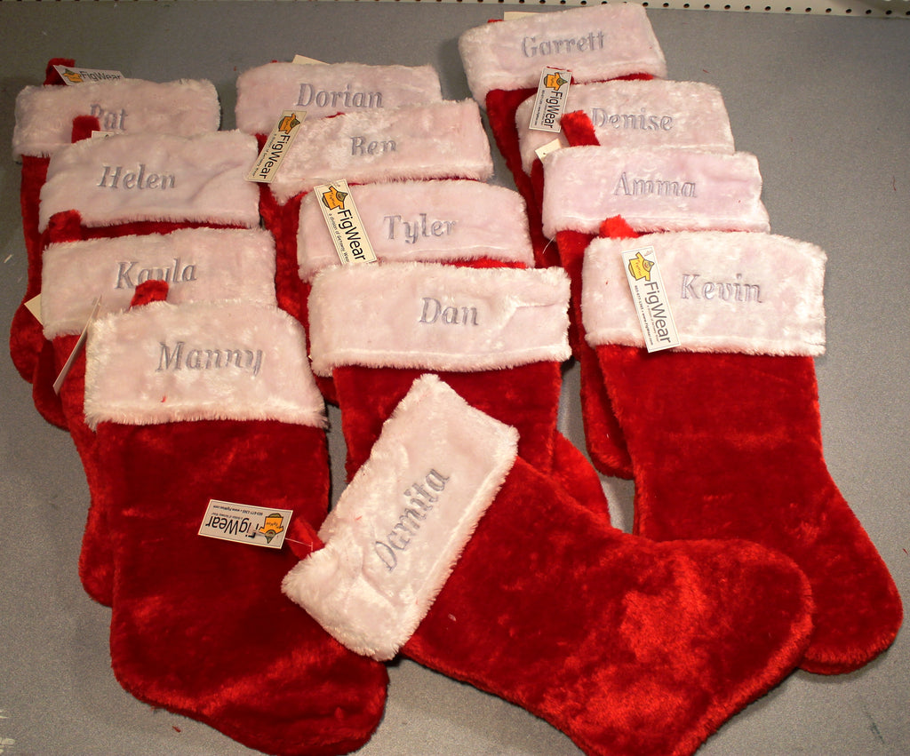 "Personalized 16"" Stockings"