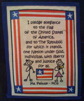Embroidered Pledge of Allegiance - FigWear