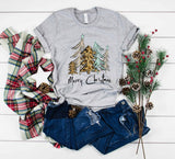 Merry Christmas Trees Tee