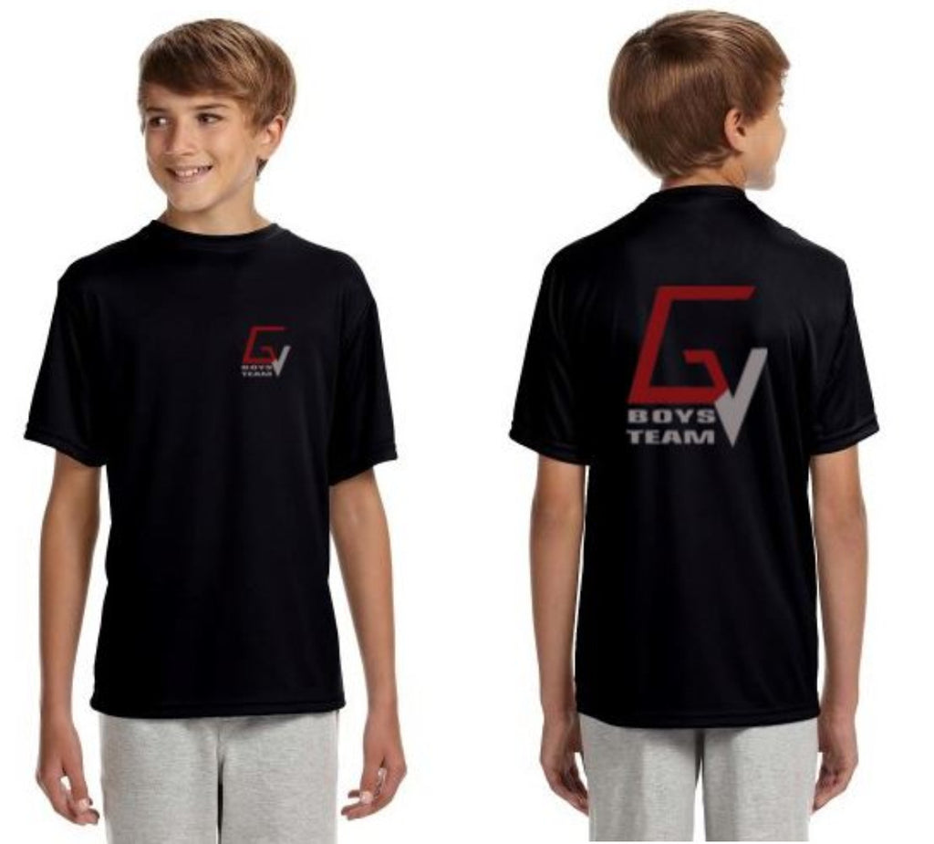 GV BOYS TEAM Short Sleeve Cooling Performance Crew Shirt