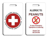 Allergy Bag Tag - FigWear