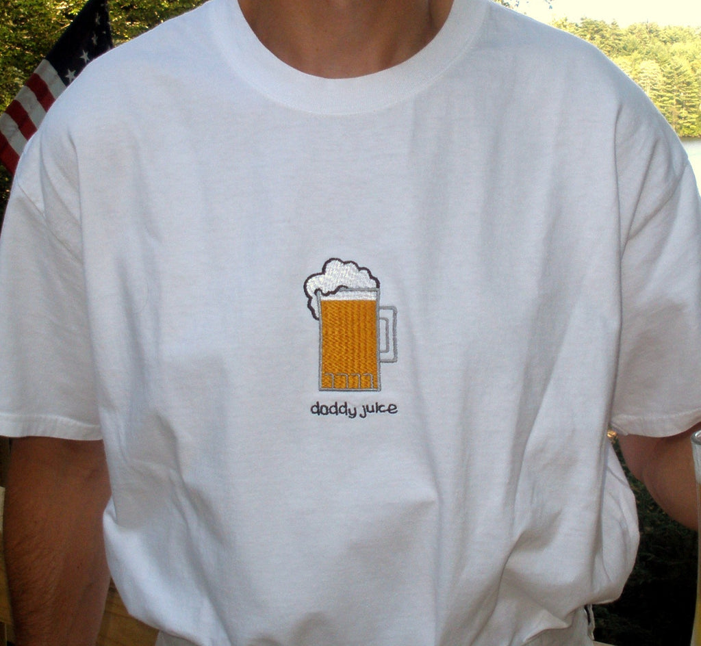 daddy juice Embroidered Tee