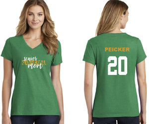 Football Senior Mom Tee