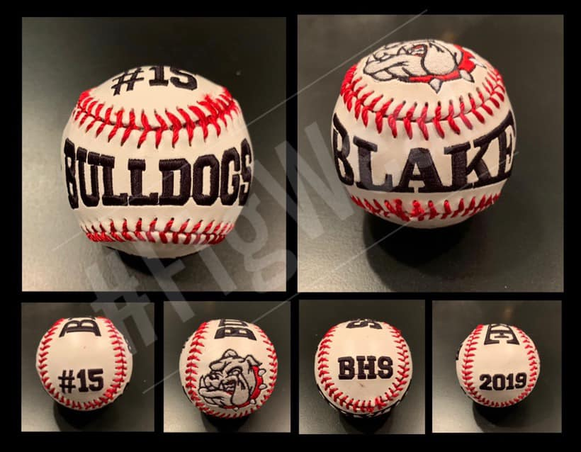 Embroidered Baseballs