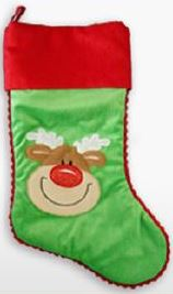 "Custom 17"" Christmas Stockings - FigWear"