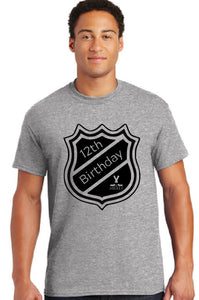 Custom Hockey Birthday Shirt