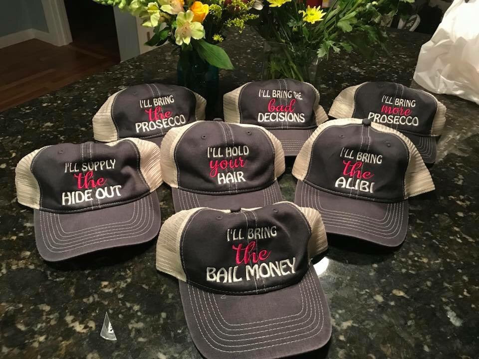 Girls Weekend Trucker Hats