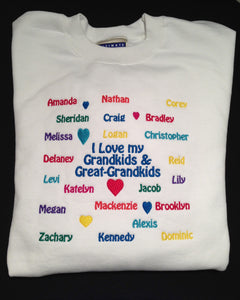 I love My Grandkids Sweatshirt