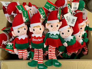Santa's Elf Personalized Doll