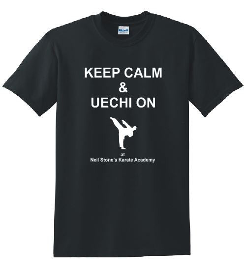 NSKA Keep Calm and Uechi-on ComfortSoft® Cotton Tee