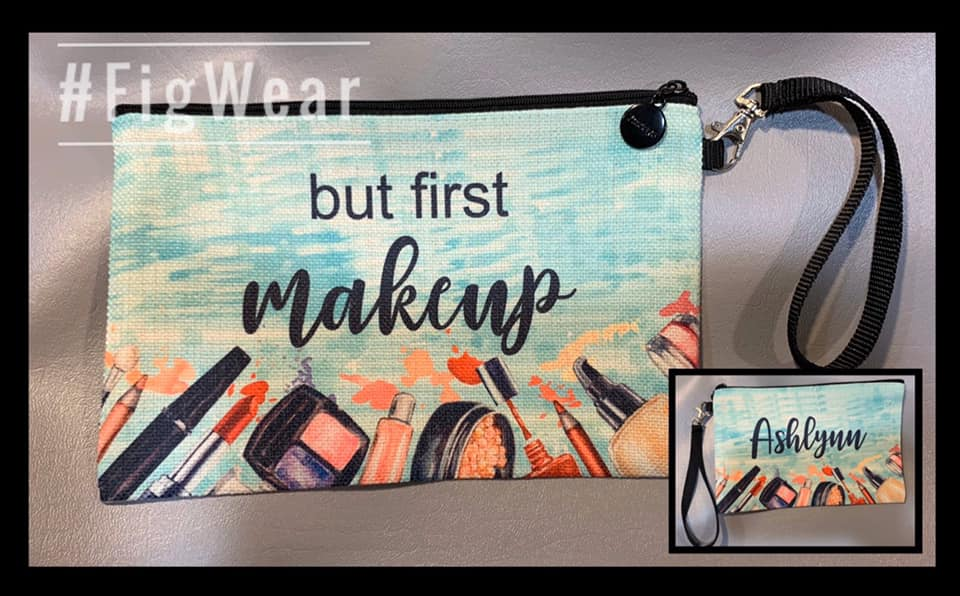 Custom make up bags