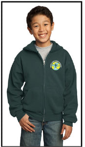 Mount Saint Mary Embroidered Full Zip Hoodie