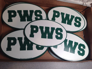 Custom Printed Oval Car Magnets