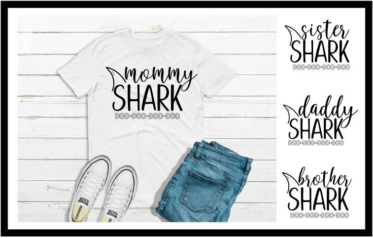 Shark Family Tees - FigWear