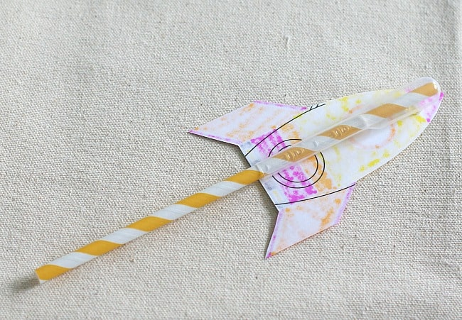 STEM for Kids: Straw Rockets