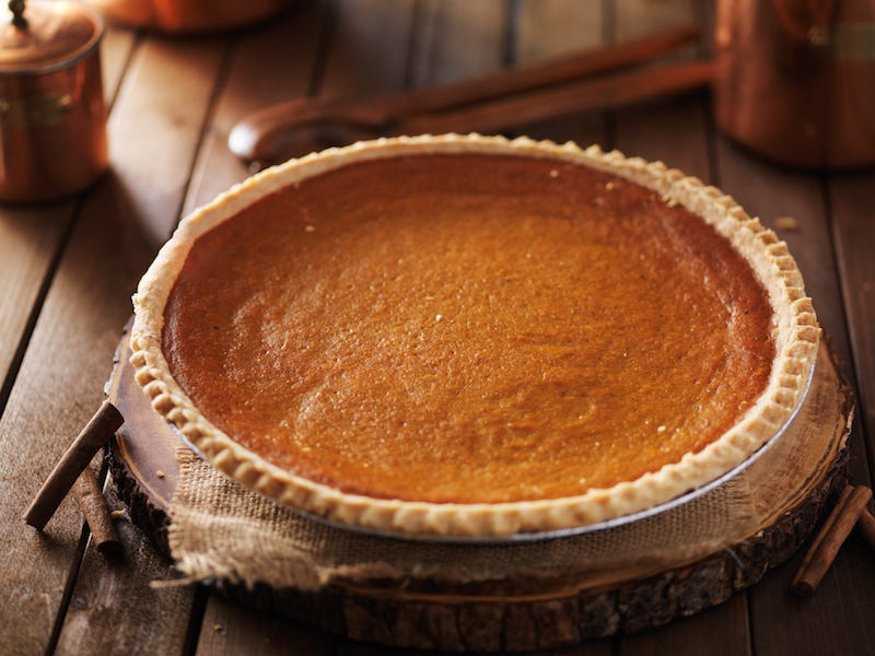 Costco is already selling 4-pound pumpkin pies, and you can buy one for just $6