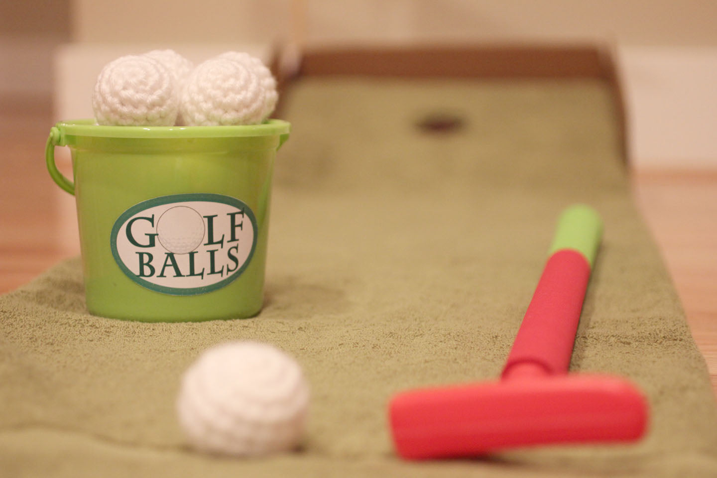 DIY Target Golf for future golfers!