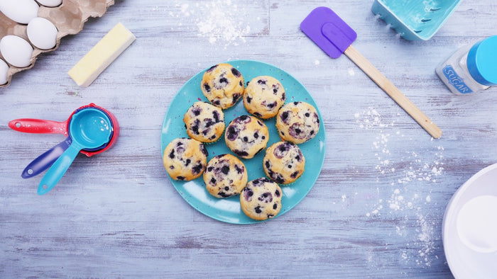 BLUEBERRY MUFFINS RECIPE FROM THE MUFFIN MAN!