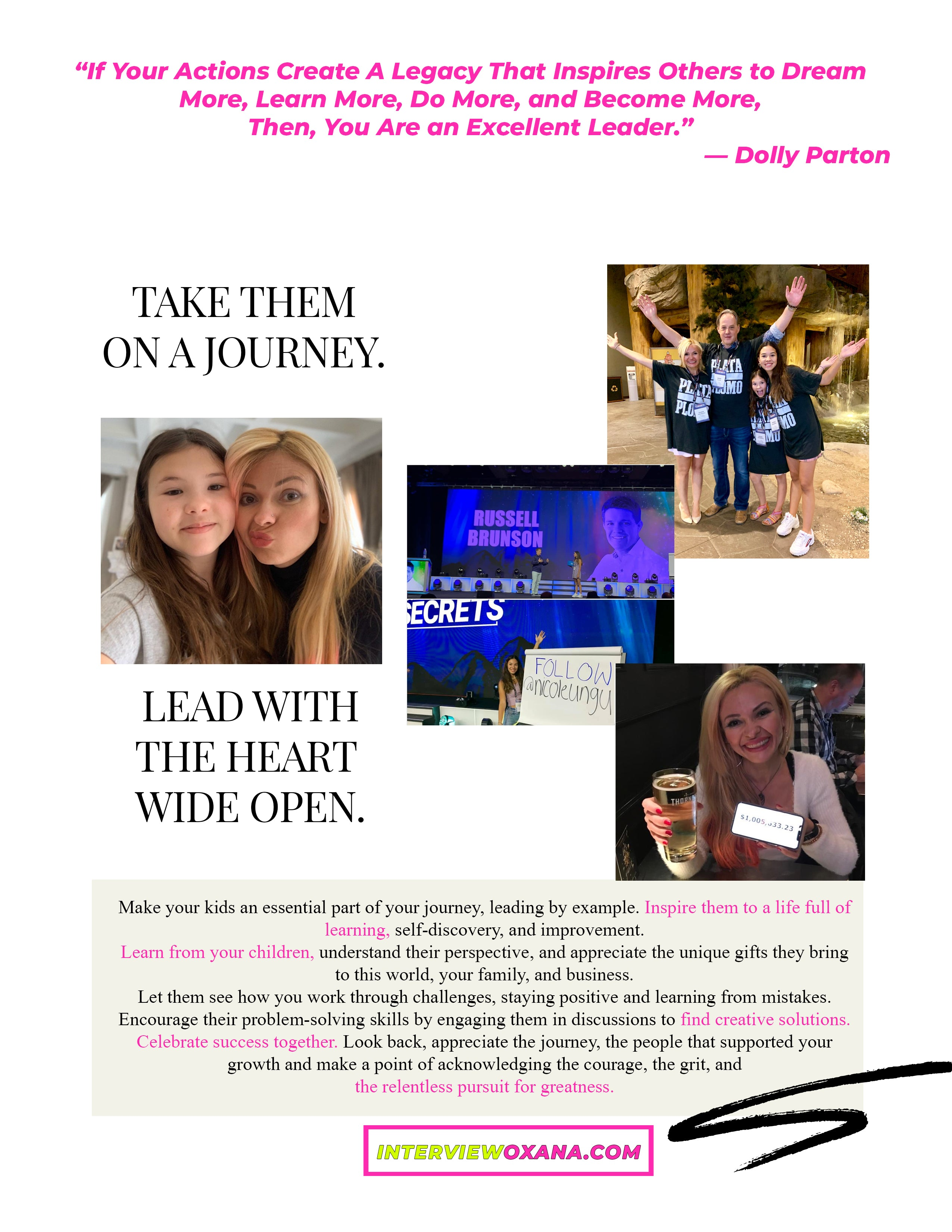 Million Dollar Mom Questions Answered How To Raise a Million Dollar Child - Take Them On A Journey