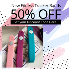 save 50% on tracker bands
