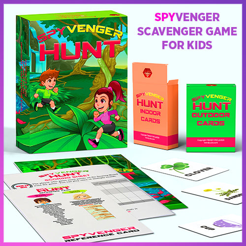 SPYvenger Scavenger Hunt Game