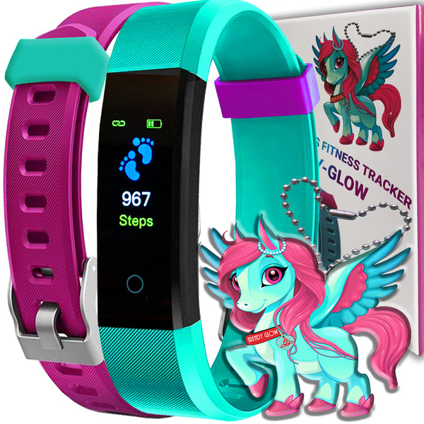TRENDY GLOW KIDS FITNESS TRACKER